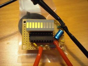 LED bar S-meter