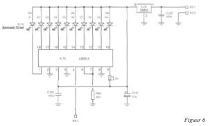 Schema LED-bar