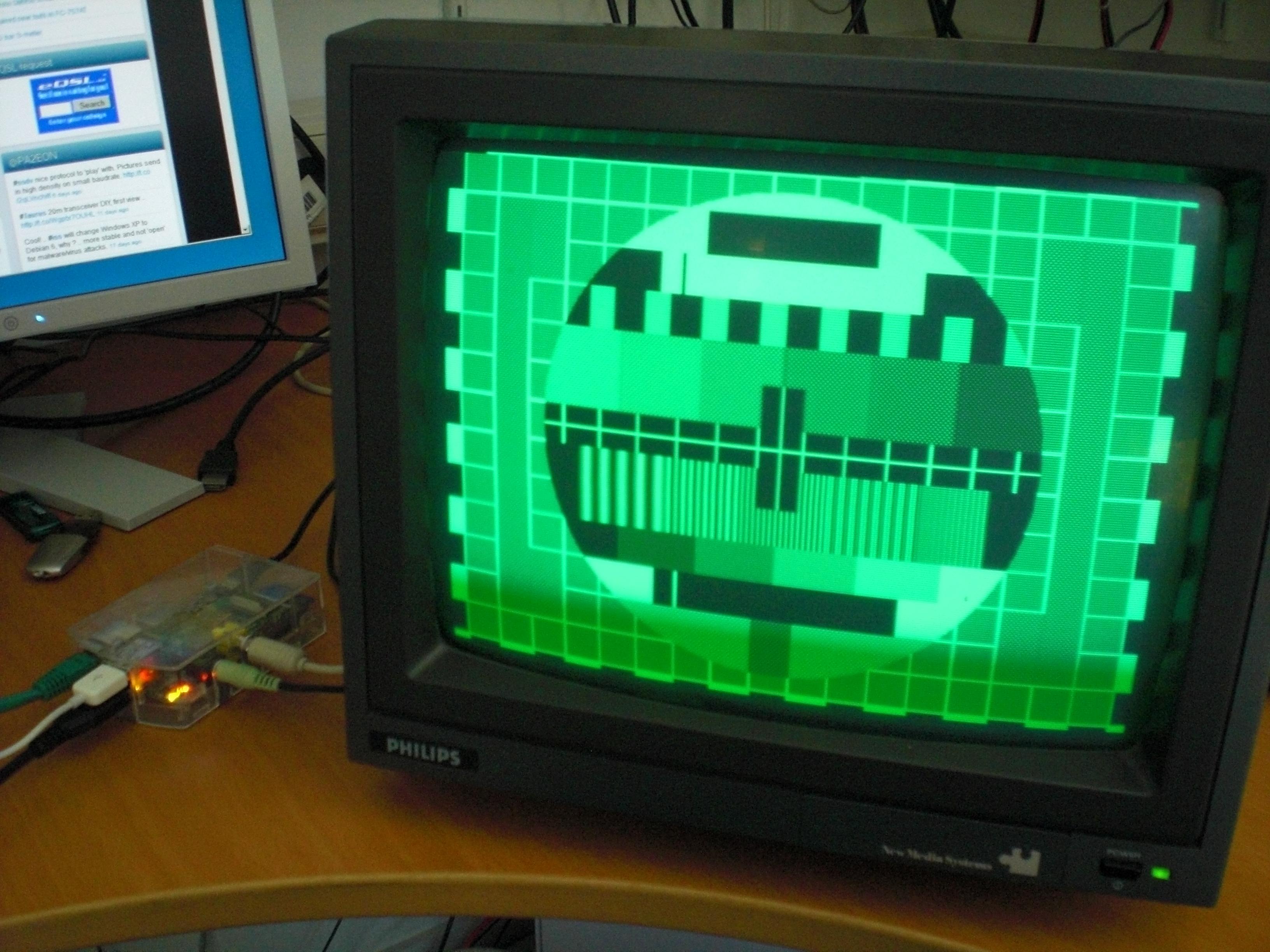 PA2EON – Ham Radio Station – DIY hamradio SSTV, ATV interfaces and