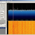 SDR software, main screen